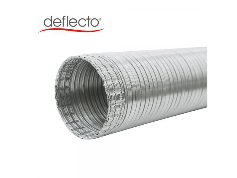 Deflecto Semi-Rigid Flexible Aluminum Duct