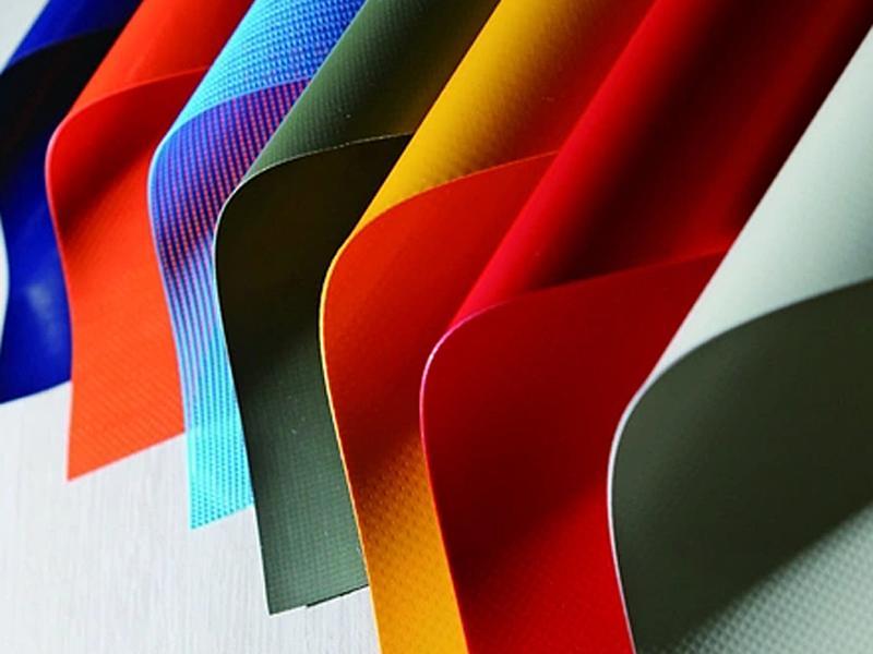 Anti-UV Water-Proof Fabric 100% Polyester PVC Laminated Tarpaulin Fabric