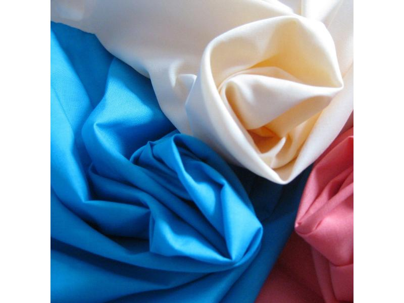 100% Cotton Plain Dyed Fabric for Bedding