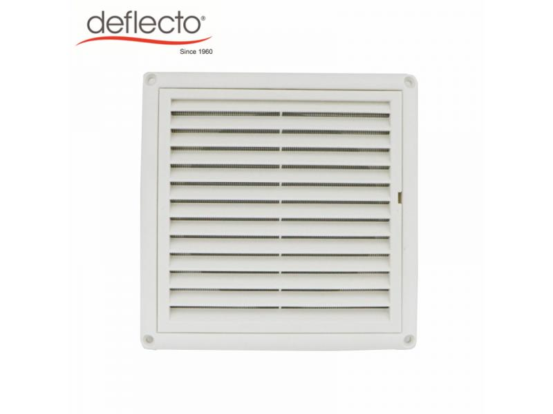 4/5/6 Inch Louver Vent Hood Mesh with PP Material, Anti-UV