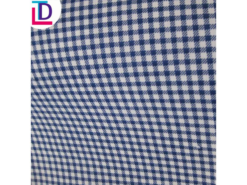Polyester Plain Yarn Dyed Fabric