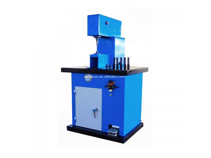 Semi-Automatic Tubular Brake Shoe Lining Rivet Machine