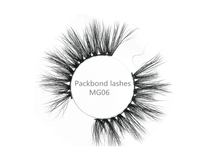 Wholesale Fashion Eyelashes 25mm Lashes Long and Fluffy with Private Label Packaging