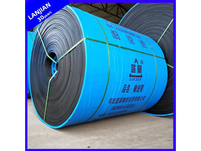 General Endless NN100-500 Belt Nylon Fabric Flat Rubber Conveyor Belting for Sale