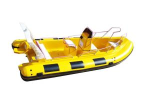 Entertainment Fiberglass Hull Rigid Inflatable Boat