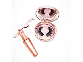 Magnetic Eyelashes with Eyeliner Magnetic Eyeliner and Magnetic Eyelash Kit