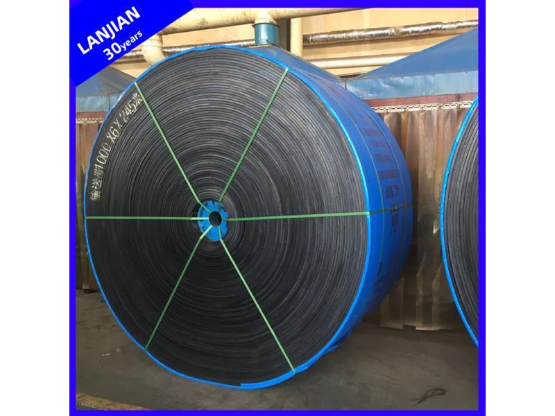 High Strength/Abrasion Resistant Industrial Polyester Conveyor Belt Ep Rubber Belt