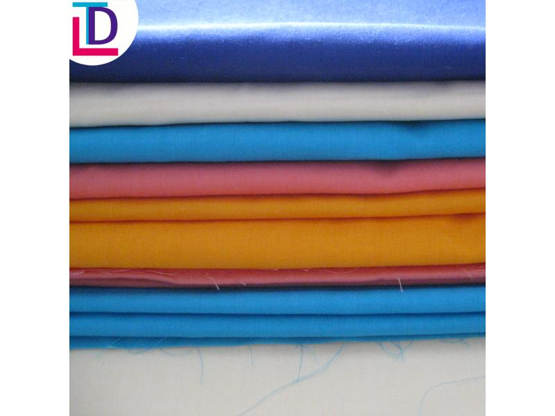 100% Cotton Plain Dyed Fabric for Pocket Lining