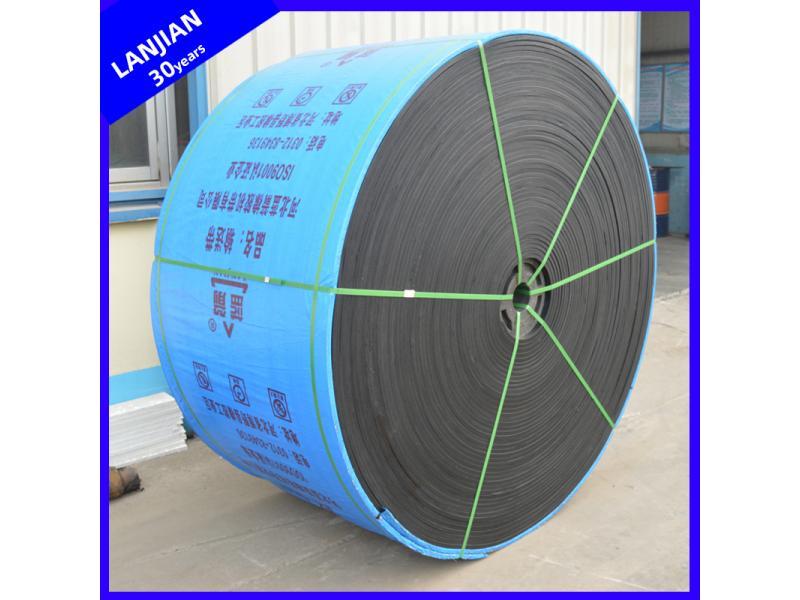 Quality Assured Anti-Skid Oil Resistant Nylon/Polyester Rubber Belting Conveyor Belt