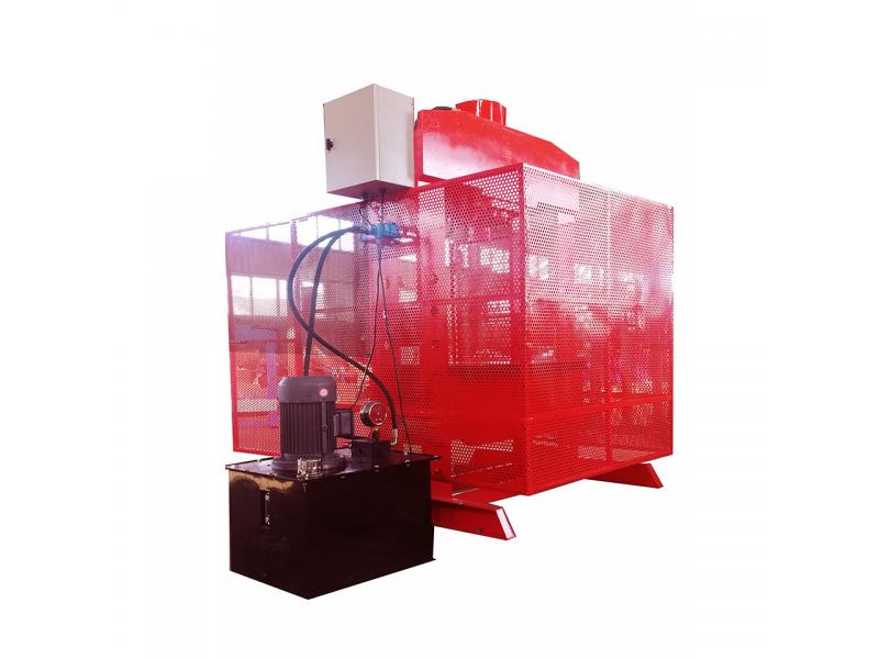 Customization Single Cylinder Electrical Motor 100t 1 Column Hydraulic Press