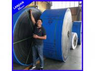 Ep Polyster Fabric Moulded/Cut Edge Rubber Conveying Belting