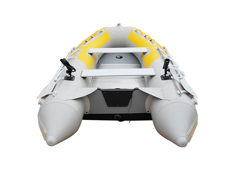 PVC Rubber Inflatable Sports Boat with Aluminum Floor