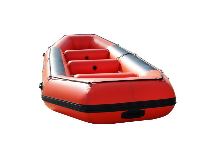 Outdoor Sport Red Inflatable Raft Boats