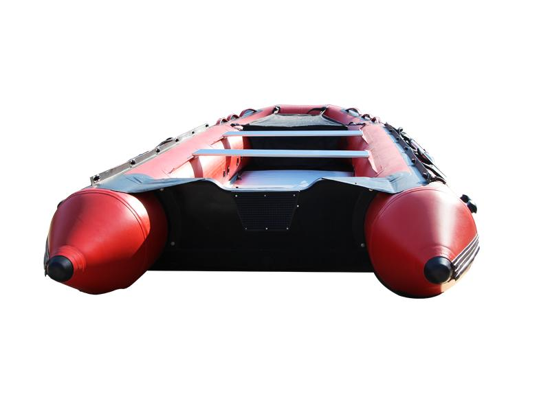 Best Selling Aluminum Hull Inflatable Boat for 8 Persons HLL430