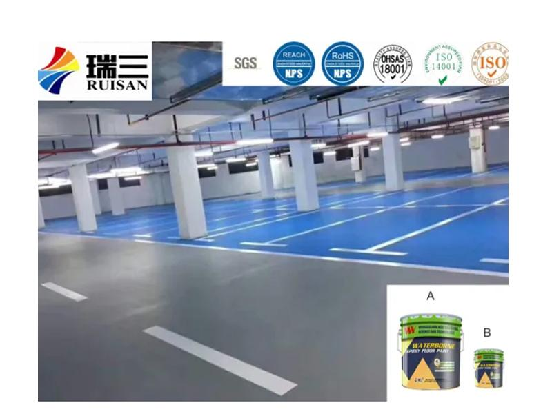 Cm-101dt Waterborne Epoxy Floor Paint Primer for Factory Basement Parking Lots