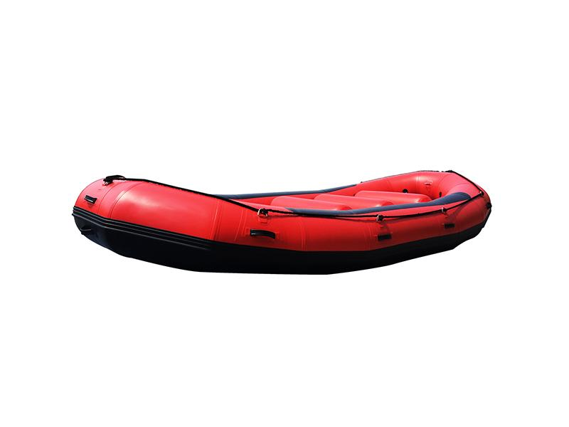 Hypalon Inflatable Sport Tender Fishing Boat with Aluminium