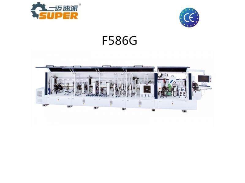 F586G Heavy Duty Quick Melt Adhesive Plywood Edge Banding Machine