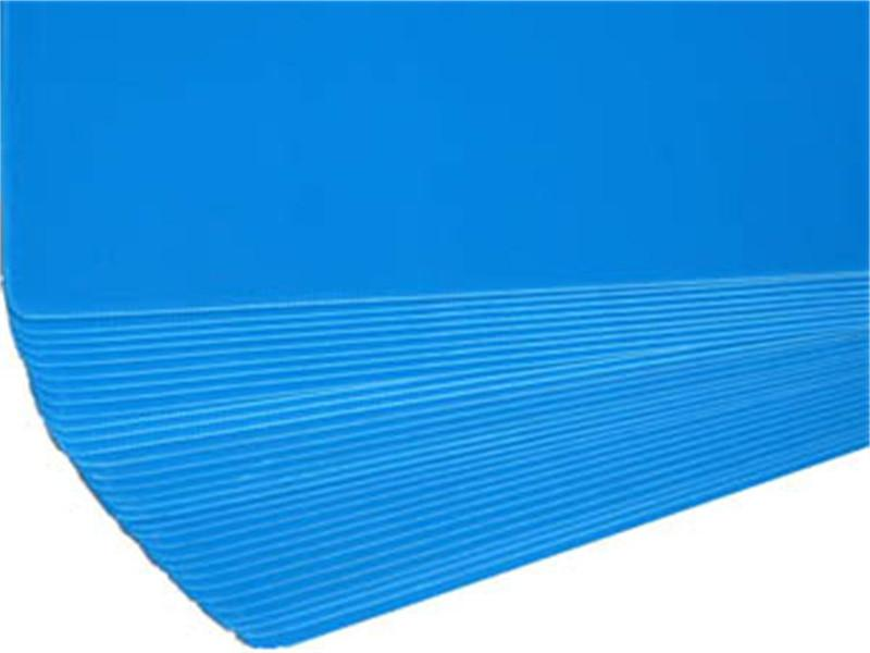 PP Corrugated Plastic Layer Pad Divider Board