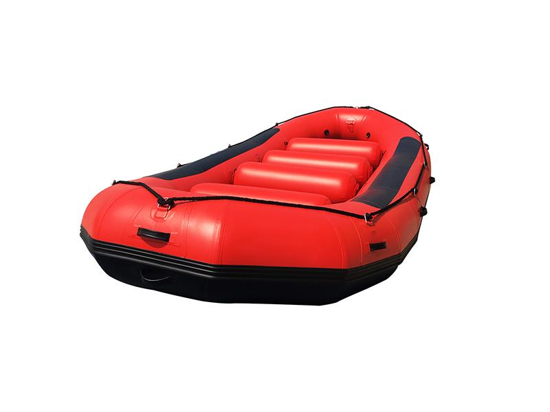 Inflatable PVC Boat with Aluminium Floor for Fishing