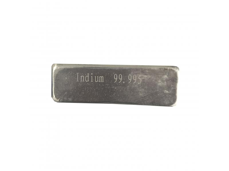 High Purity Indium Metal Price,Pure Indium Ingot,Indium Tin Alloy