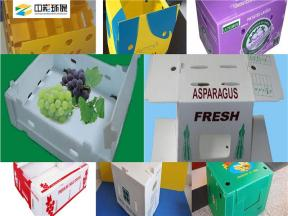 Foldable Corrugated Plastic Divider Box