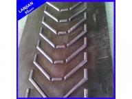 Closed V Type Pattern Chevron Ep Fabric Rubber Conveyor Belt