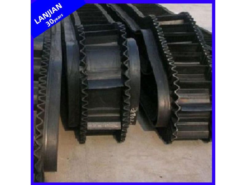 Professional Standard 90 Degree Flexible Sidewall Conveyor Belt