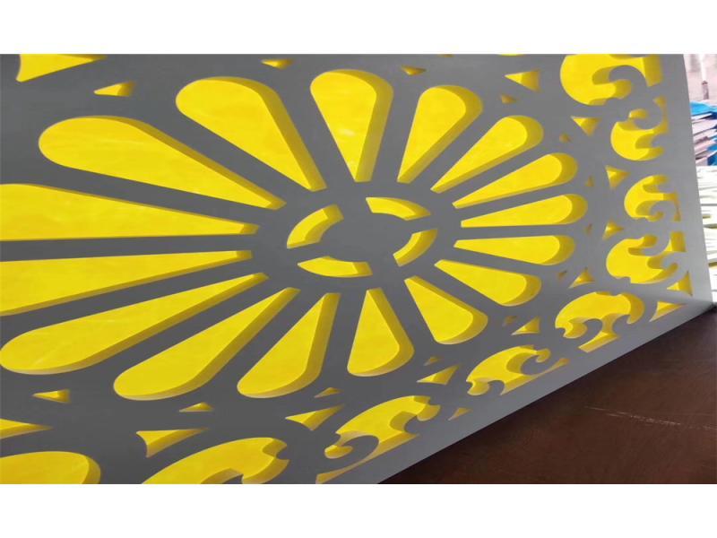 Different Density White 1220*2440mm Custom Print PVC Foamed Sheets