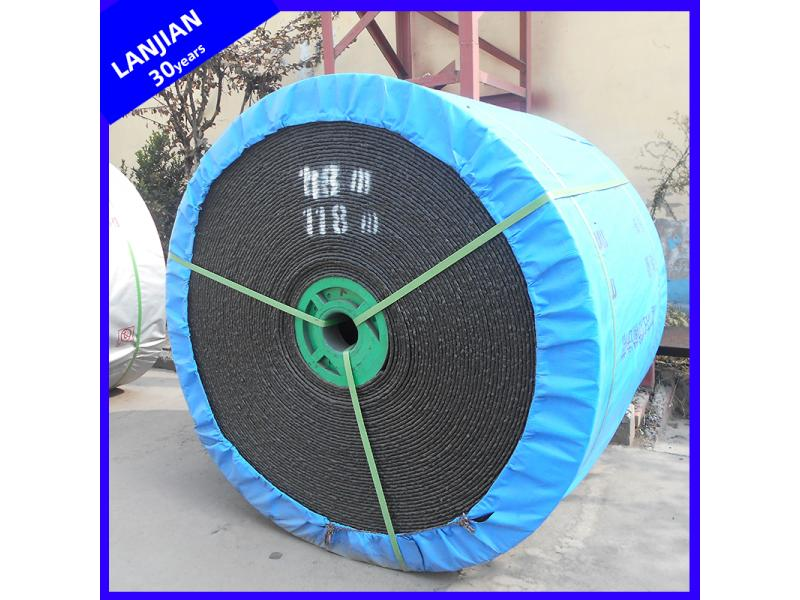 Whole Core Industrial Fire Retardant PVC Pvg Rubber Conveyor Belt