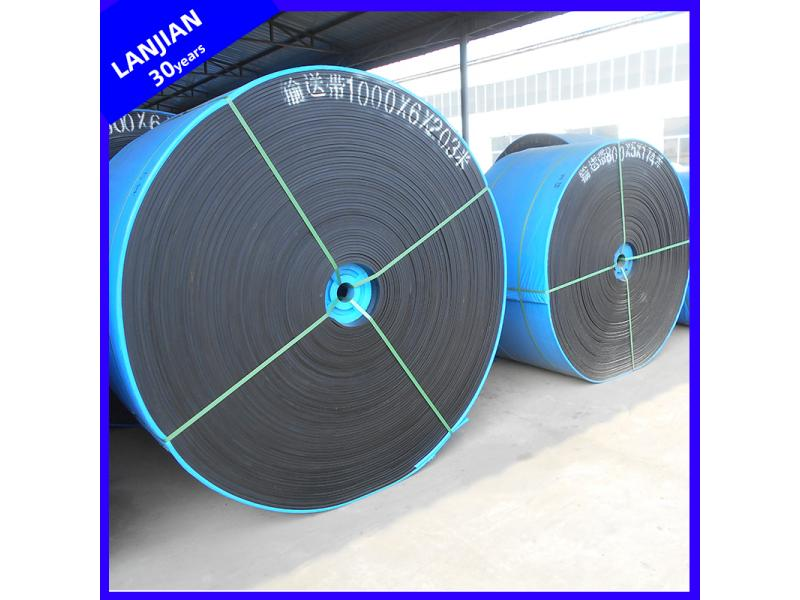 Antiskid Anti-Corrosion Oil Resistant Conveyer Rubber Belting