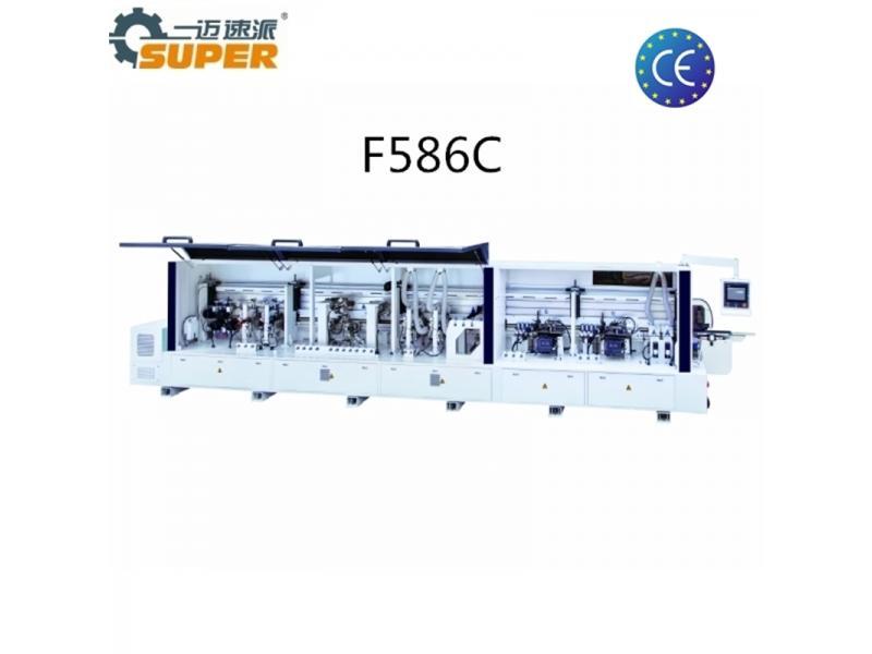 F468jx Bevel Edge Banding Machine 45degree Automatic Edge Bander