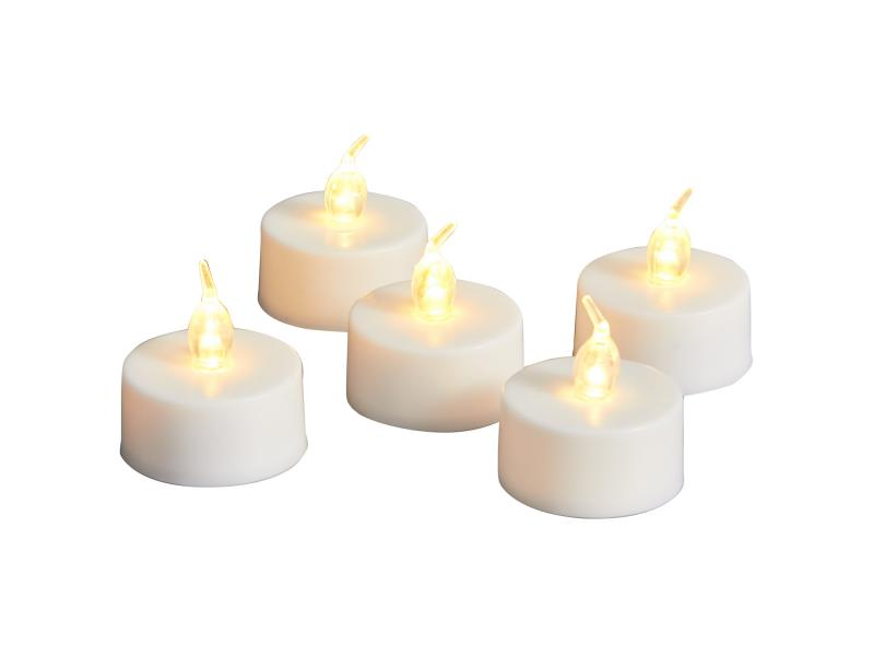 Home Decor Flameless Moving Wick Votive LED Tealight Candles