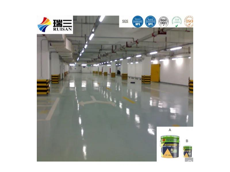 WE-8473 Waterborne Epoxy Curing Agent and Hardener for Epoxy Concrete