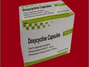 DOXYCYCLINE CAPSULE