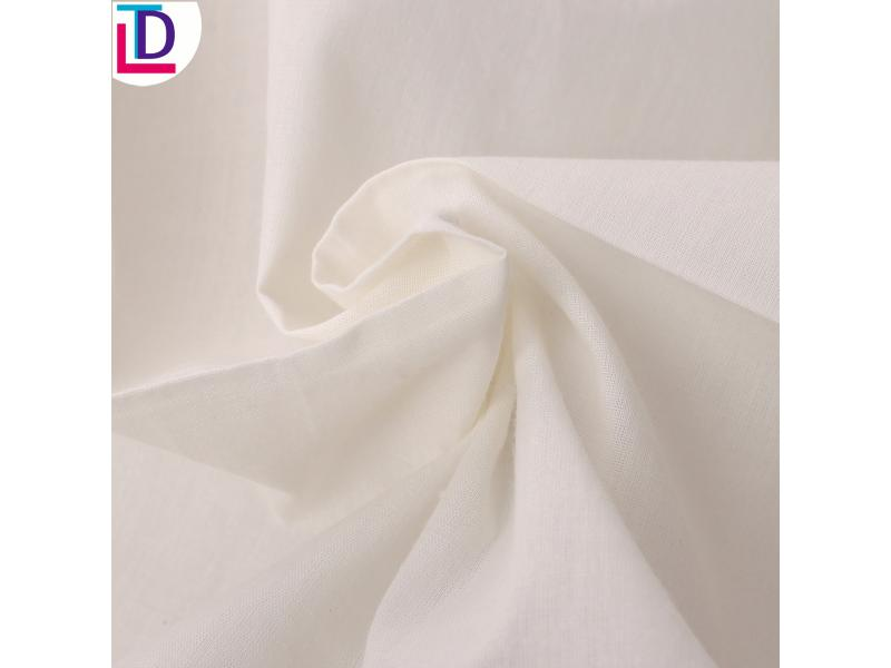 100% Cotton Twill Bleached Fabric