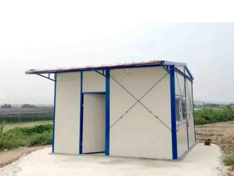 Steel Workshop Tiny Prefab House in Africa