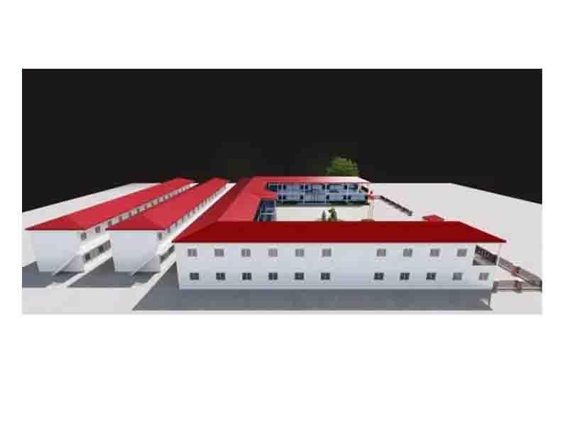 Temporary Economical Mobile Prefab House Sandwich Panel Modular House
