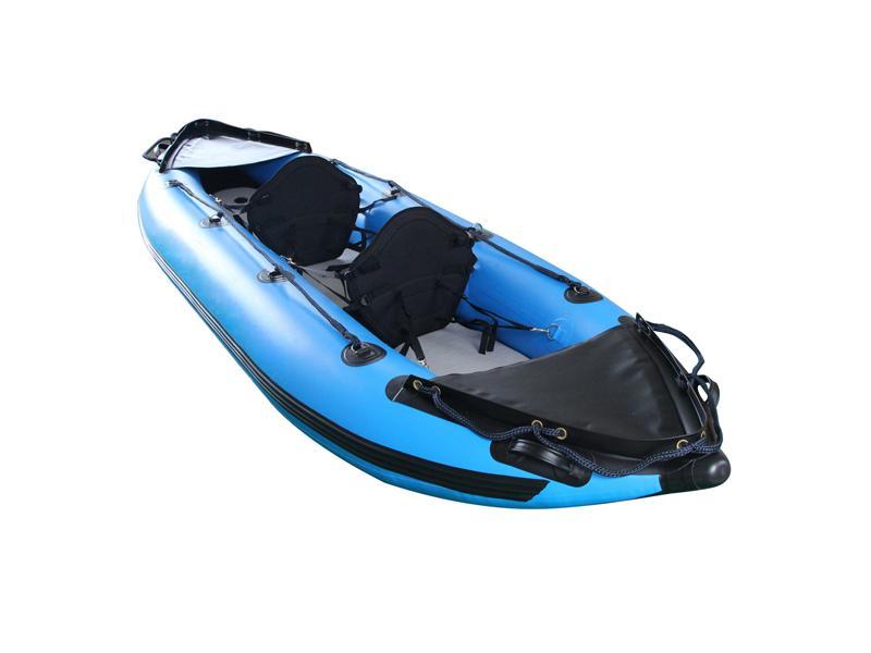 Double Person Customized Color PVC/Hapalon Inflatable Kayak