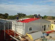 T Modular Ranch House Row Prefabricated PVC Houses for Social House