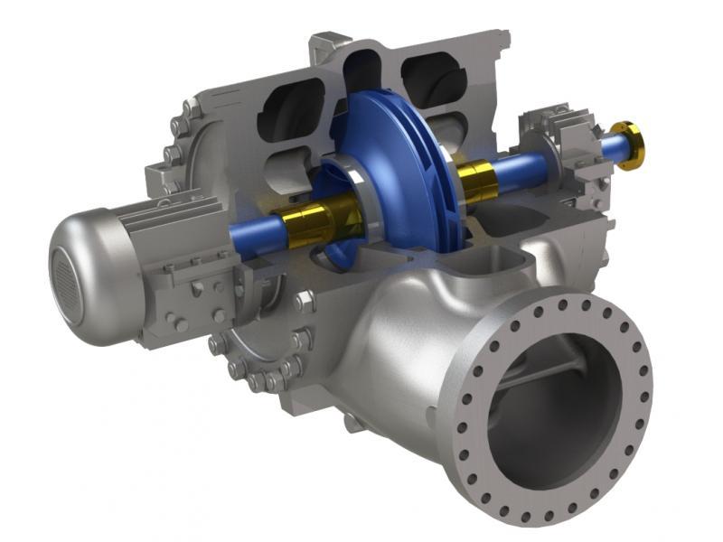 API610 BB2 Between Bearing Pump
