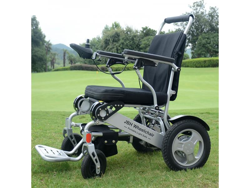 Portable Folding Electric Wheelchair for Elderly People