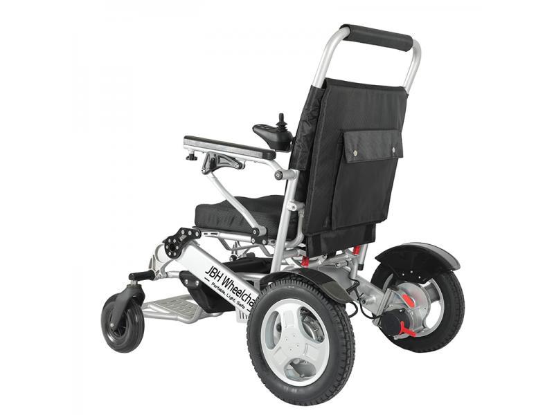 Lightweight Motorized Easy Folding Power Electric Wheelchair