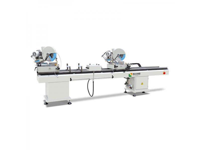 PVC Window Profile Double Head Cutting Machine