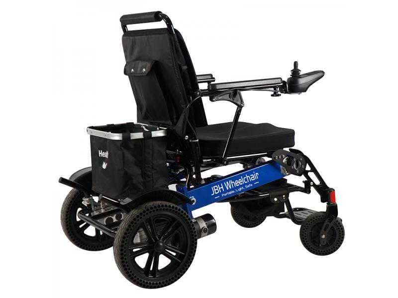 Remote Controlled Folding Power Assist Wheelchair for Sale