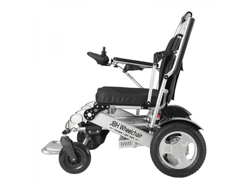 2020 New Folding Lightweight Aluminum Alloy Power Wheelchair Factory Export To USA