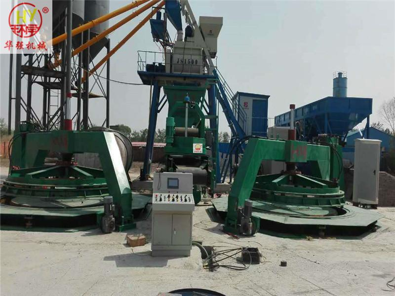 Core Mold Vibrates Cement Pipe Machine (XM1000-3000/2m)