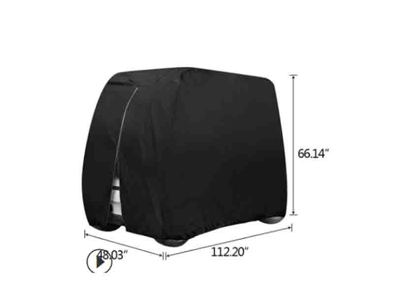 Jiaxing Manufacturers Custom CA Golf Cart Cover