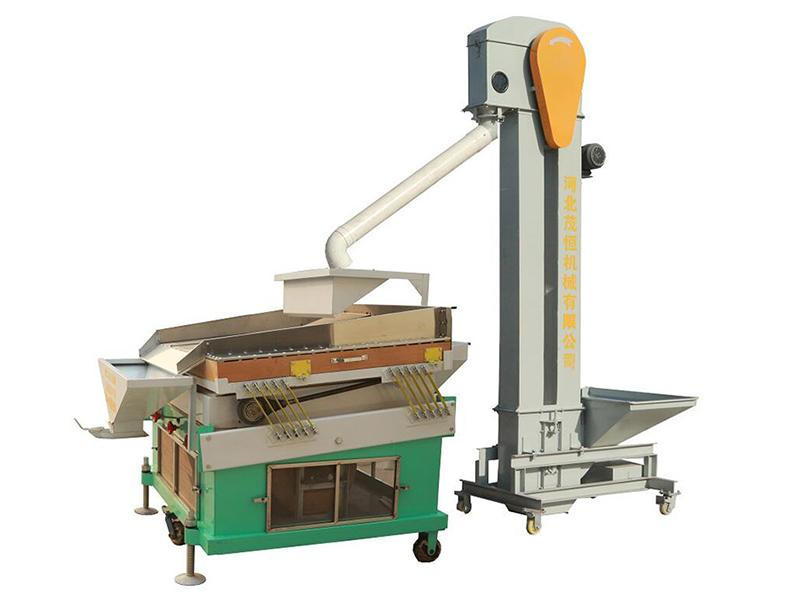 Almond Stoner Remover Machine