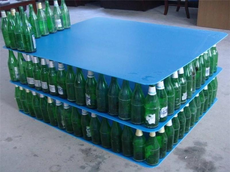 Sealed Edge Round Corner PP Corrugated Bottle Layer Pad