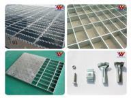 Hot-DIP Galvanized Steel Bar Grating